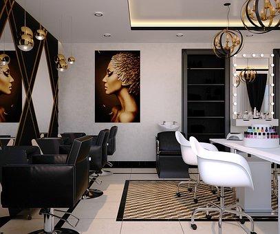 eleganckie meble fryzjerskie