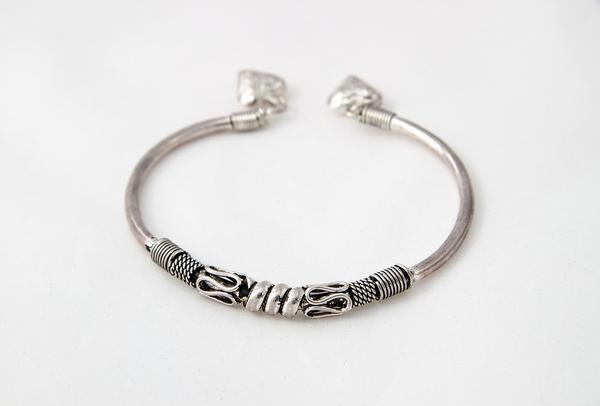 odświętne bransoletki srebrne